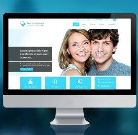 牙科商標與網站設計