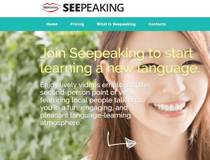 Seepeaking 網上生活語言學習網
